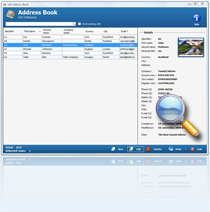 Free Address Book - Contact editor